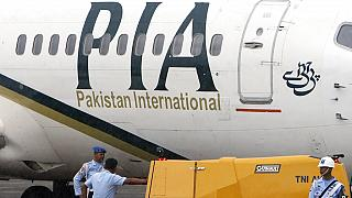 Imagem de arquivo de uma avião da Pakistan International Airlines (PIA)
