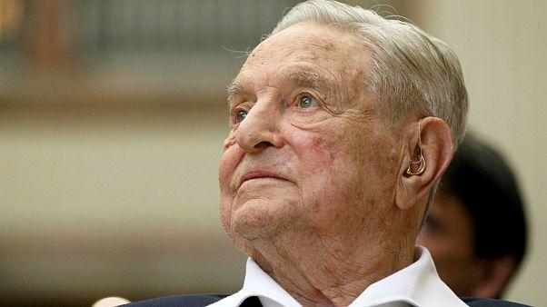 George Soros (file photo)