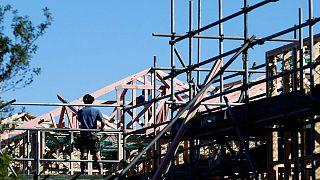 کارگر بخش ساخت و ساز در نیوزیلند