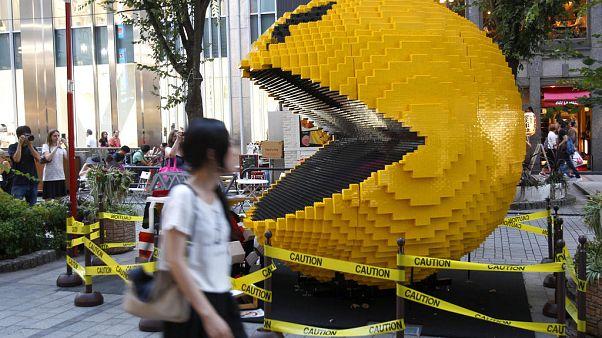 A Pac-Man legendás Tokióban