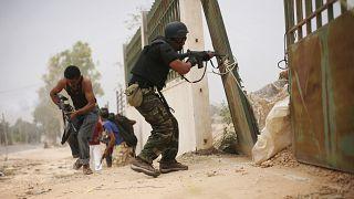 Libyalı savaşçılar / Sirte (Arşiv)