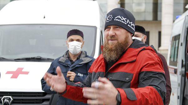 Kadyrow am 9. Mai 2020