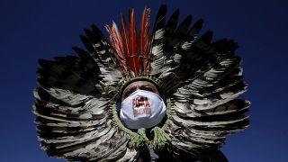 البرازيل / قائد مجموعة من السكان الأصليين يطالب بتنحي بولسونارو من منصبه