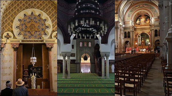 Fransa'da ibadethaneler