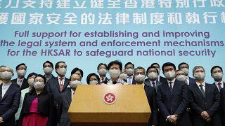 Çin'in hazırladı ulusal güvenlik yasasına Hong Konglu politikacılardan destek geldi