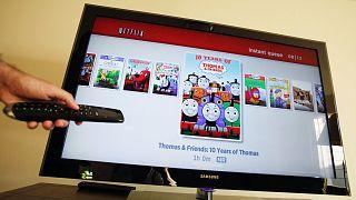 Netflix-vezérlés (archív)