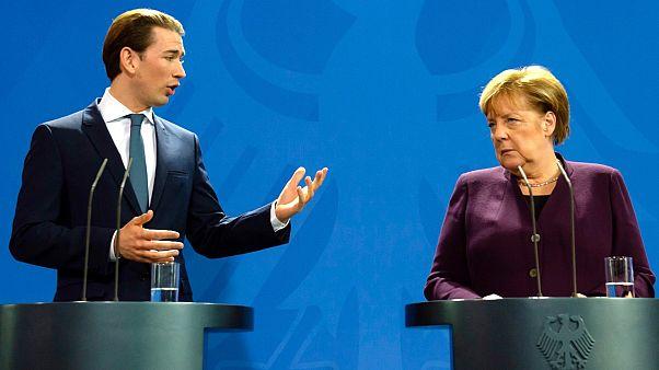 Kurz Merkel