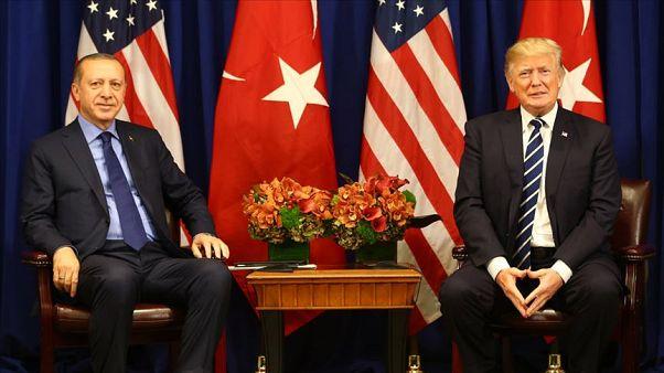 Cumhurbaşkanı Erdoğan, ABD Başkanı Trump'la telefonda görüştü: Libya ve Suriye meseleleri ele alındı