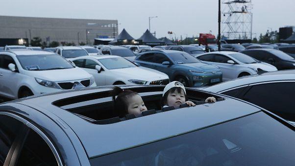 Drive in συναυλία στη Νότια Κορέα