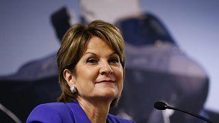 Marillyn Hewson, a Lockheed Martin elnök-vezérigazgatója bejelentette visszavonulását