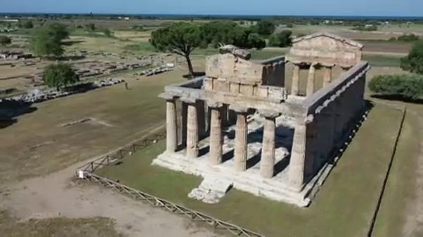 Άνοιξε ο αρχαιολογικός χώρος της Ποσειδωνίας