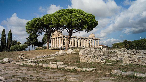 Athena-Tempel in Paestum
