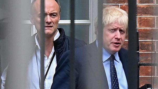 Dominic Cummings ve Boris Johnson