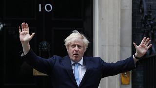 El primer ministro de Reino Unido Boris Johnson