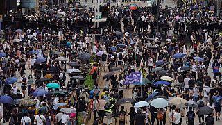 هنگ کنگ؛ شروع اعتراضهای خیابانی به لایحه امنیتی پکن