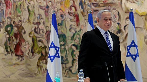 премьер-министр Израиля Биньямин Нетаньяху на заседании правительства 24 мая 2020