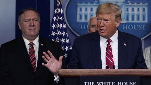 ABD Başkanı Donald Trump ve Dışişleri Bakanı Mike Pompeo