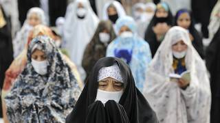 اقامه نماز با ماسک در عصر کرونا