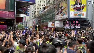 Des milliers de manifestants à Hong Kong contre la loi sur la sécurité