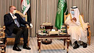 Ali Allawi, Iraq's deputy prime minister, who is also the country's finance as well as acting oil minister on a visit to Saudi Arabia