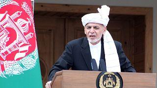 Afganistan Cumhurbaşkanı Eşref Gani
