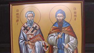 Nordmazedonien ehrt Slawenapostel Kyrill und Method