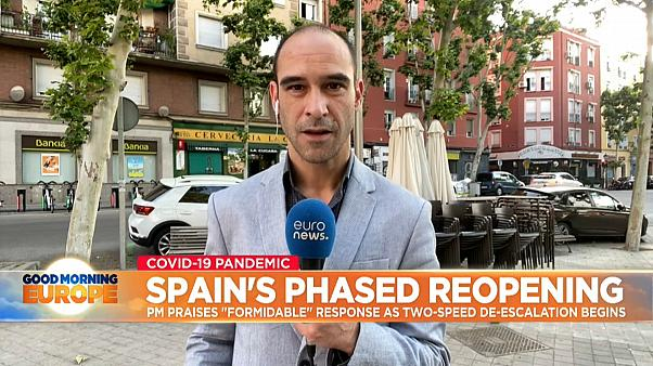 Madrid and Barcelona enter phase one of deconfinement