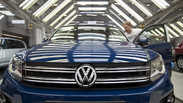 Usine Volkswagen à Wolfsburg (Allemagne) - Image d'archives