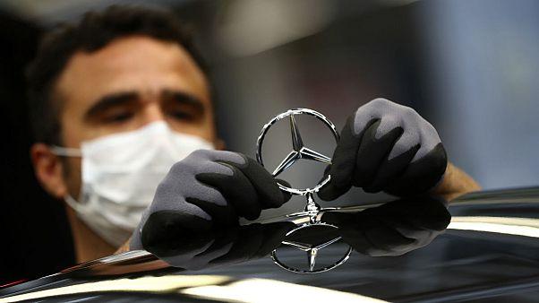Mercedes plant in Sindelfingen, Germany