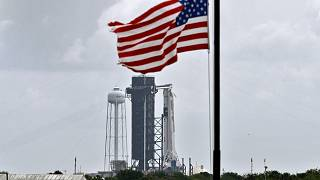 Kilövésre kész a Falcon 9 a floridai Kennedy Űrközpontban