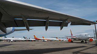 L'aéroport de Chateauroux le 22 mai 2020