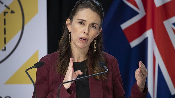 La premier della Nuova Zelanda Jacinda Ardern