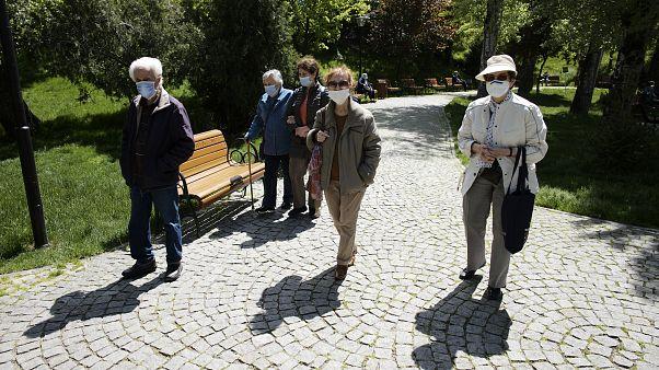 Ankara'da sokağa çıkan halk
