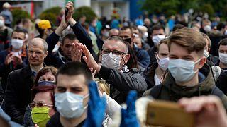 تظاهرات مردم بلاروس