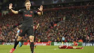 پیروزی آتلتیکومادرید در استادیوم آنفلید لیورپول در چارچوب رقابت های لیگ قهرمانان اروپا