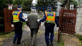 Un detenido por la policía húngara