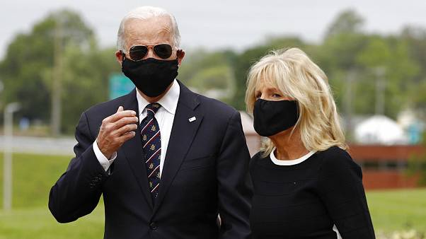 Joe Biden und seine Frau Jill