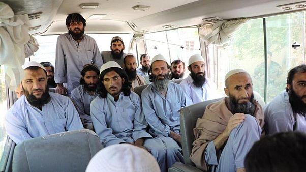 زندانیان آزاد شده طالبان در افغانستان
