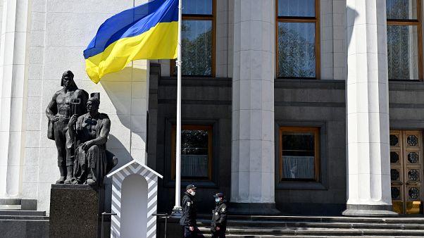 أفراد من الشرطة الأوكرانية