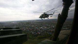 صورة لمروحية مي 8 الروسية
