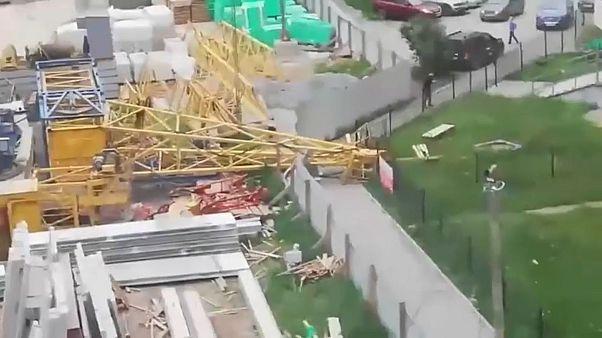 Deadly storm wreaks devastation in Yekaterinburg