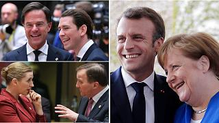 Frugal Four v Macron/Merkel