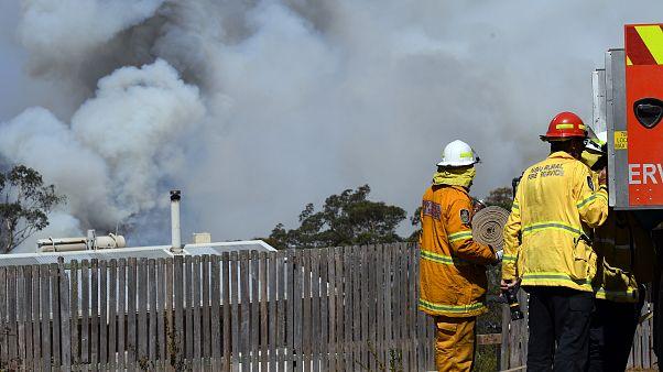 Avustralya'da 'yangın bulutları'