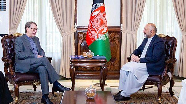 هیات دیپلماتیک ایران با سرپرست وزارت خارجه افغانستان دیدار کرد