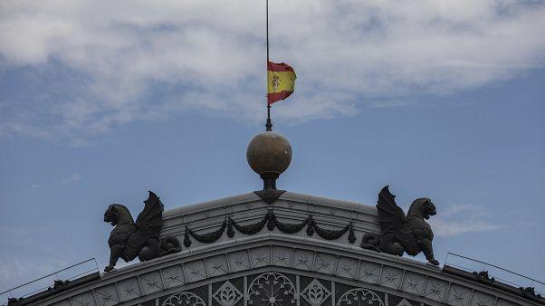 تنكيس العلم الإسباني