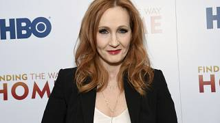 """J.K. Rowling attends the HBO Documentary Films premiere of """"Finding the Way Home"""" at 30 Hudson Yards - December, 2019,"""