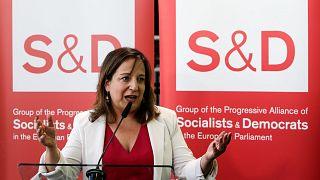 Iratxe Garcia, capogruppo dei Socialisti e Democratici al Parlamento europeo.