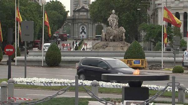 Испания: траур и протесты
