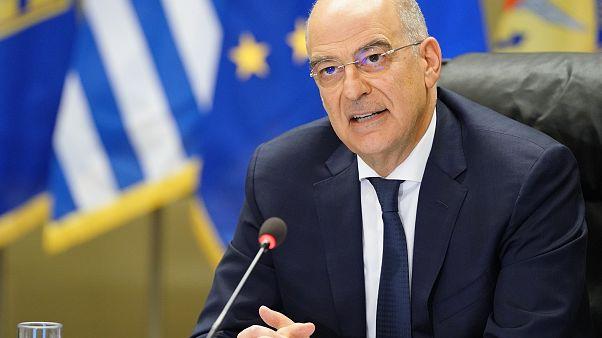Ο Νίκος Δένδιας στη συνεδρίαση της Διαρκούς Επιτροπής Εθνικής Άμυνας και Εξωτερικών Υποθέσεων της Βουλής στο Υπουργείο Εθνικής Άμυνας