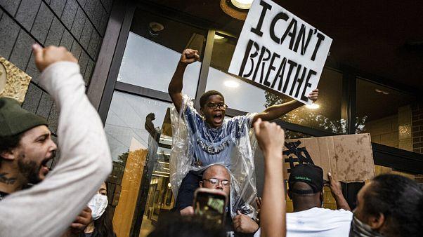 Protest gegen rassistische Polizeigewalt